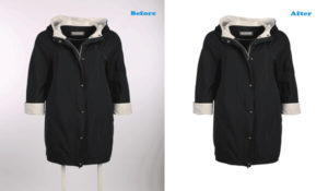 clipping path before & ifter