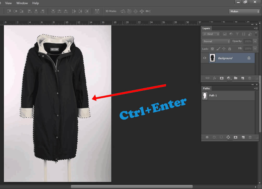 Selection path- clipping path tutorial