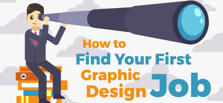 First Graphic design job
