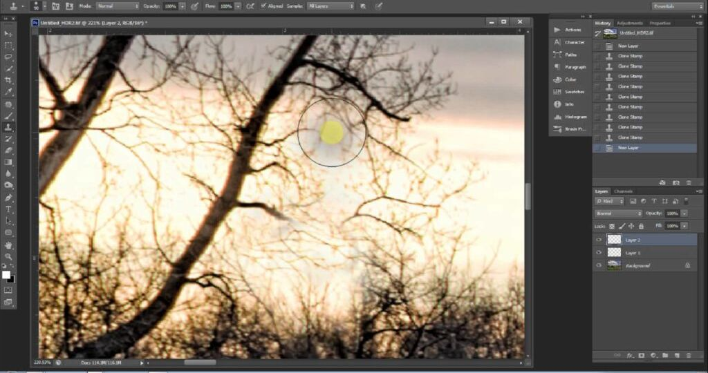HOW TO USE CLONE STAMP TOOL IN PHOTOSHOP