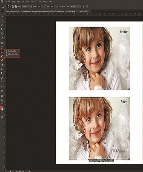 remove Watermark in Photoshop