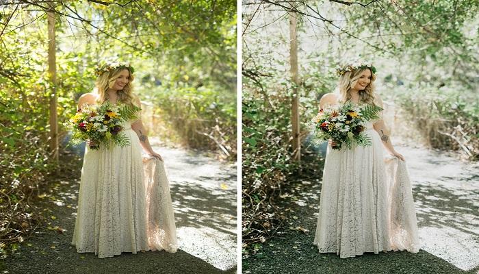 Lightroom presets for wedding photos