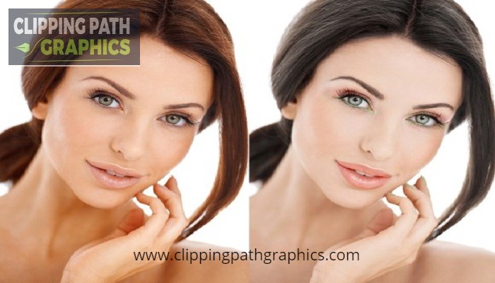 Photoshop image retouching
