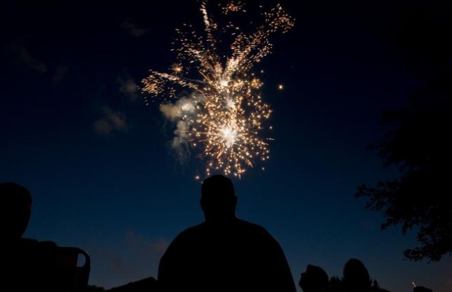 Fireworks light 3