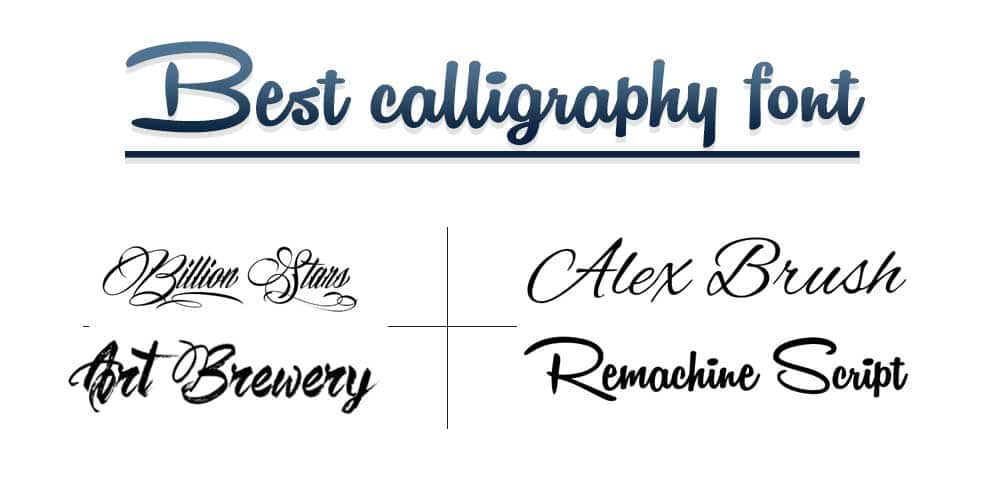 BEST CALLIGRAPHY FONTS FOR GRAPHIC DESIGNERS