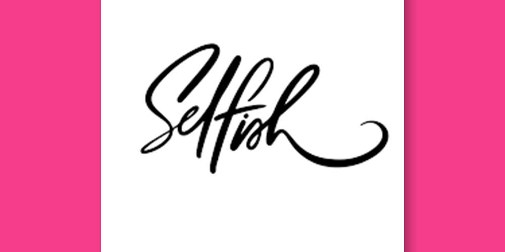 SELFISH-FONT- fonts for graphic designers