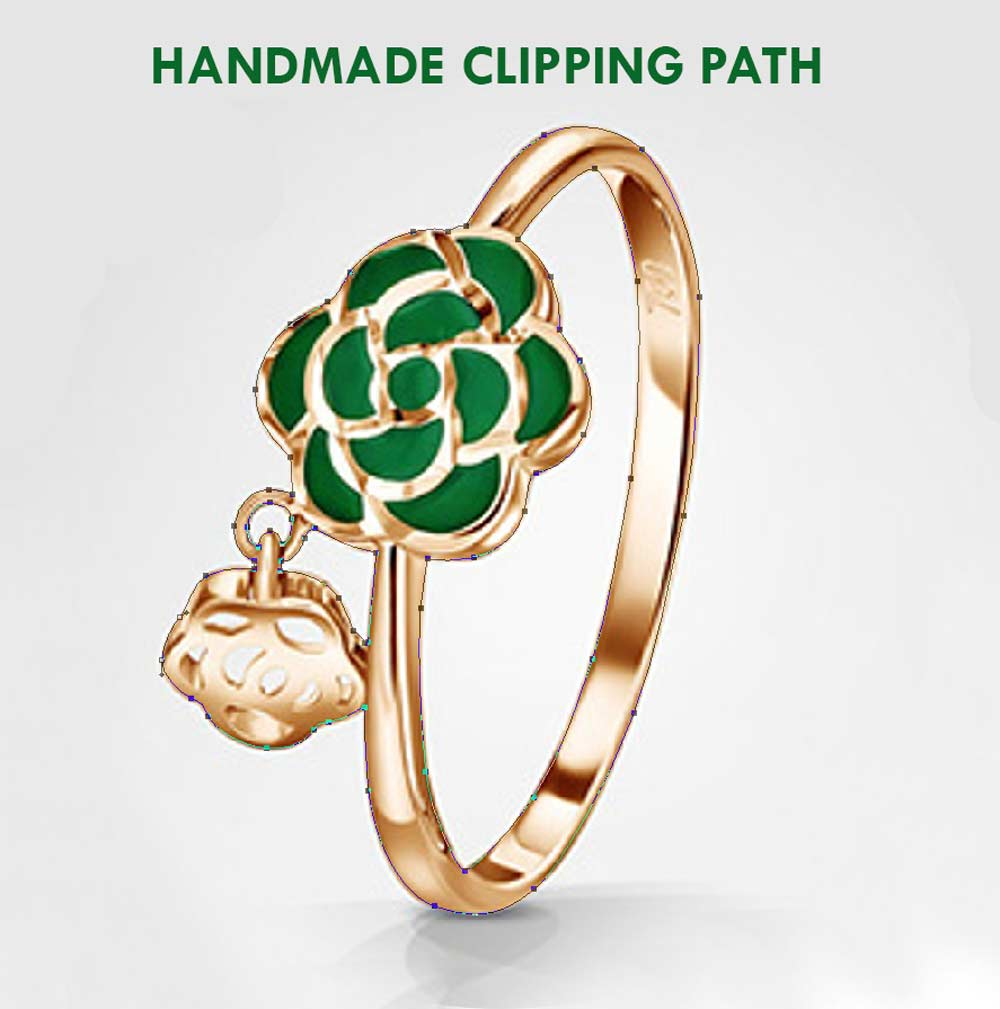 HANDMADE-CLIPPING-PATH- jewelry photo editing
