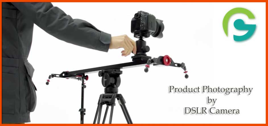 Product photography by DSLR