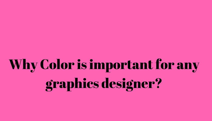Why color is important