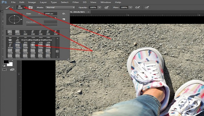 How to install brushes in Photoshop