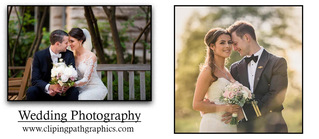 Wedding photography and photo editing