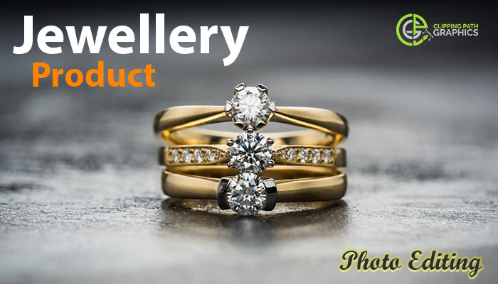 Jewellery product photo editing service