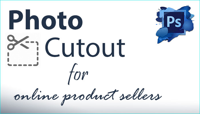 Photo cut out for online selling shop