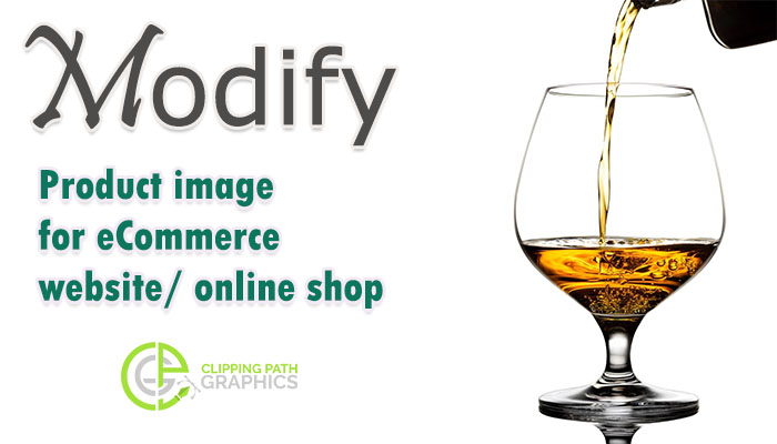 Product modify for ecommerce website and online shop