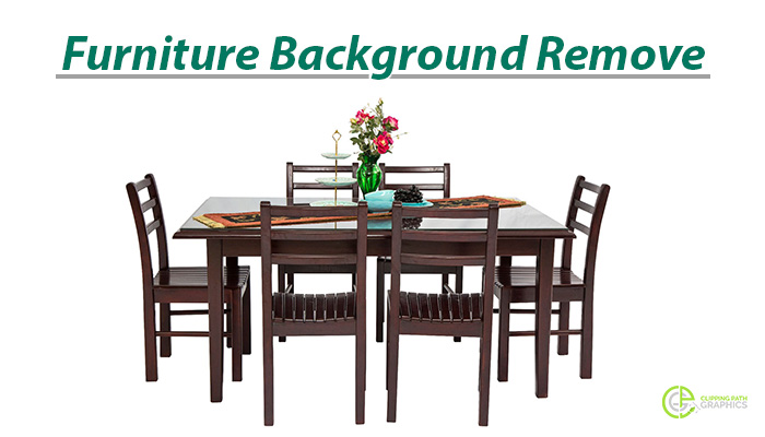 Furniture image background remove service