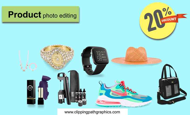 Product photo editing offer