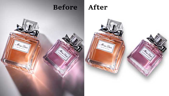 Shadow making service-Clipping path graphics