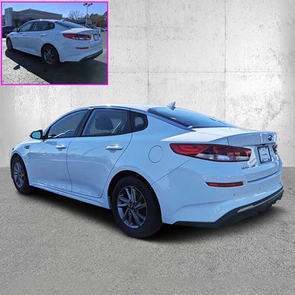 Car image editing-2-Clipping path graphics