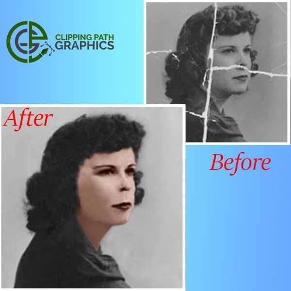 Women Photo Restoration