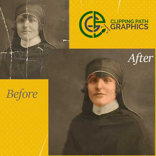 Old Photo Restoration- Clipping Path Graphics