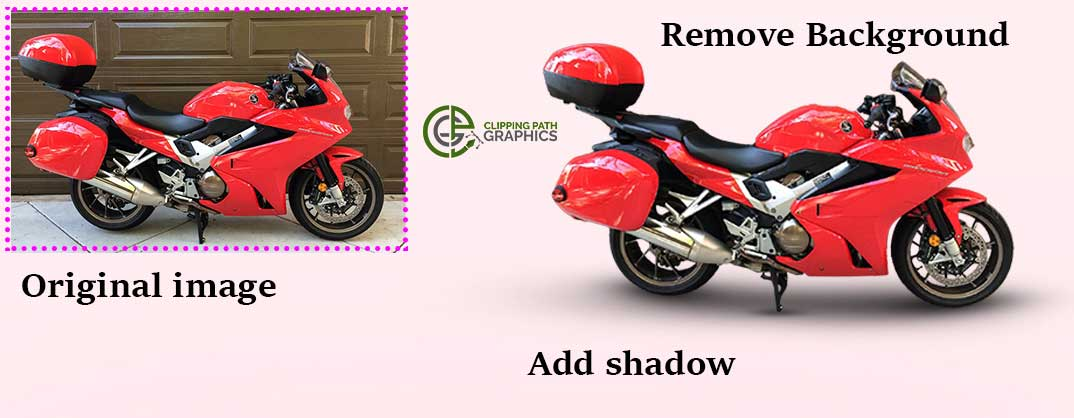 Bike image editing service