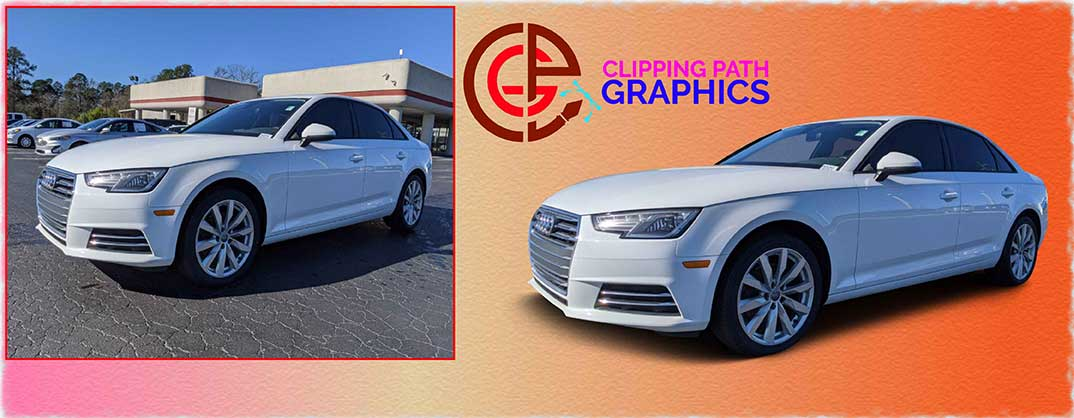 Car image editing-Before & After