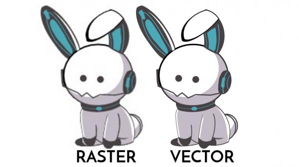 raster-vs-vector image convert