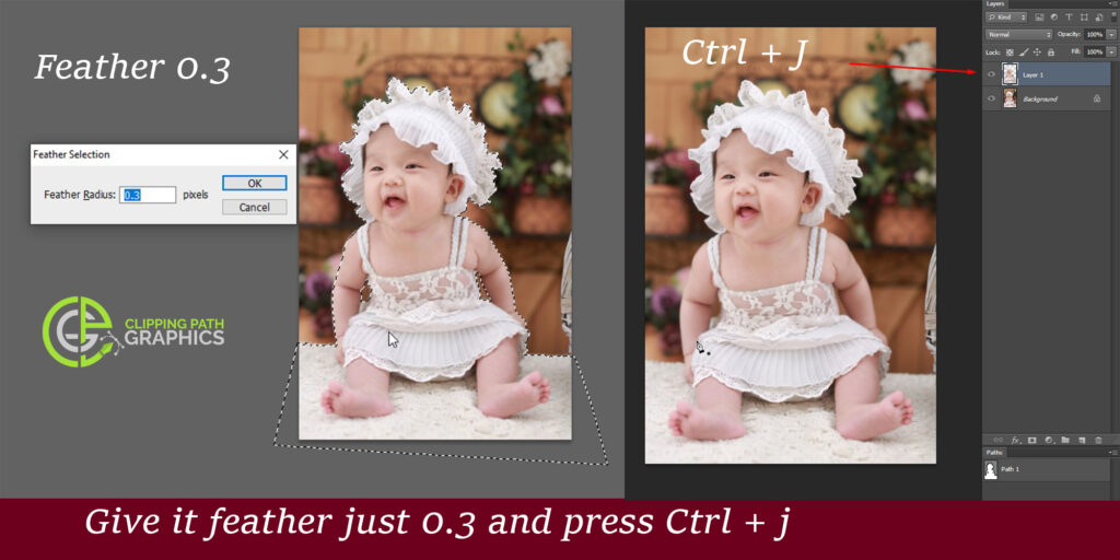 how to make an image transparent background by photoshop