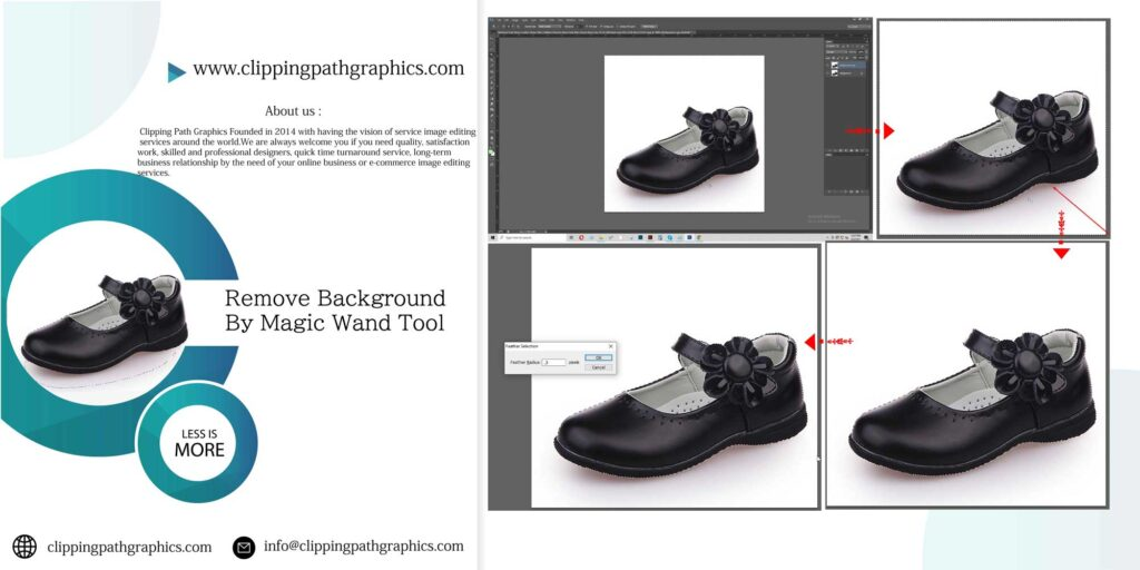 How To Remove an Image Background Using the Magic Wand Tool in Photoshop