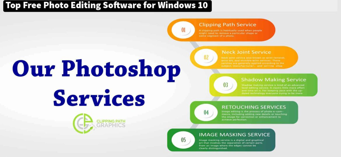 Top Free Photo Editing Software for Windows 10