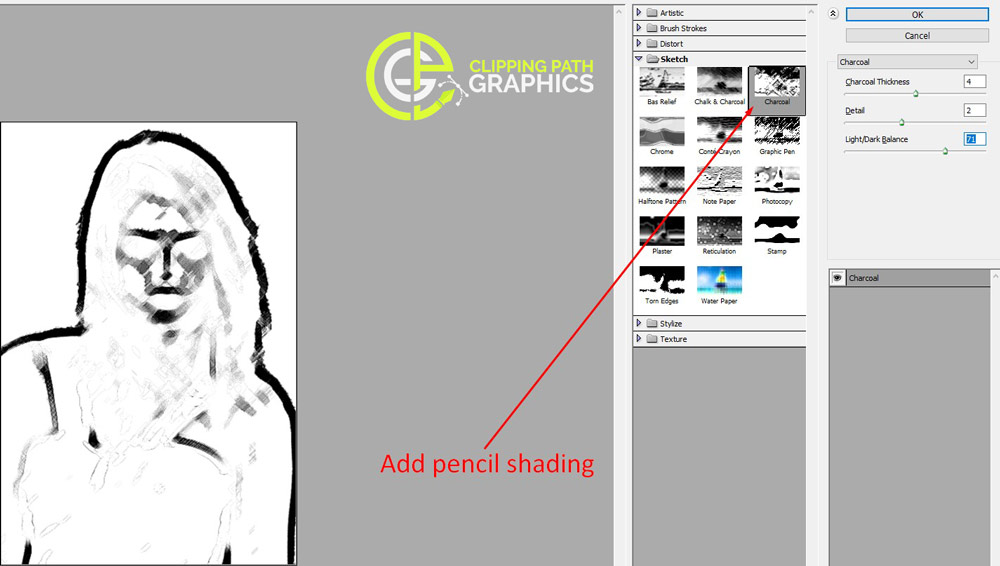 line drawing In photoshop-2