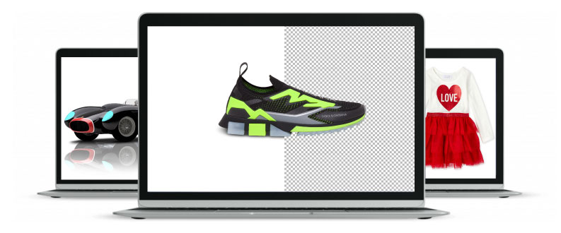 Clipping path graphics homepage image