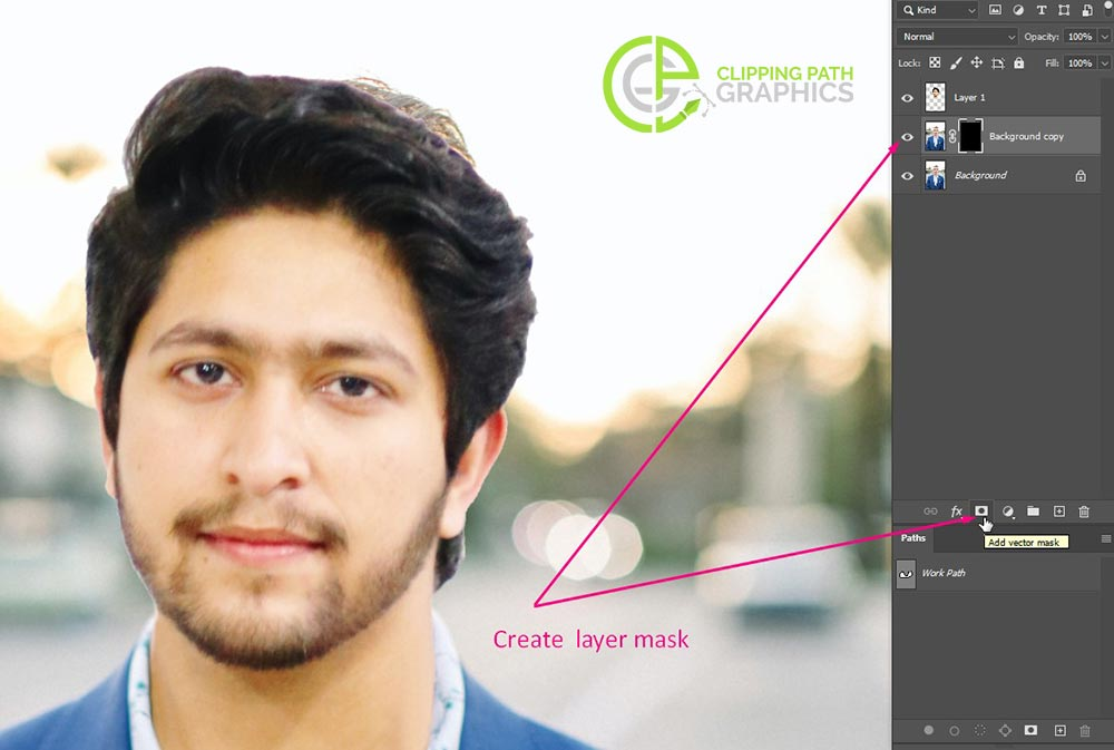 Create the clipping mask