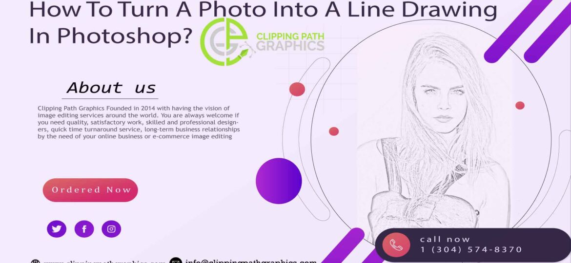 How To Turn A Photo Into A Line Drawing In Photoshop