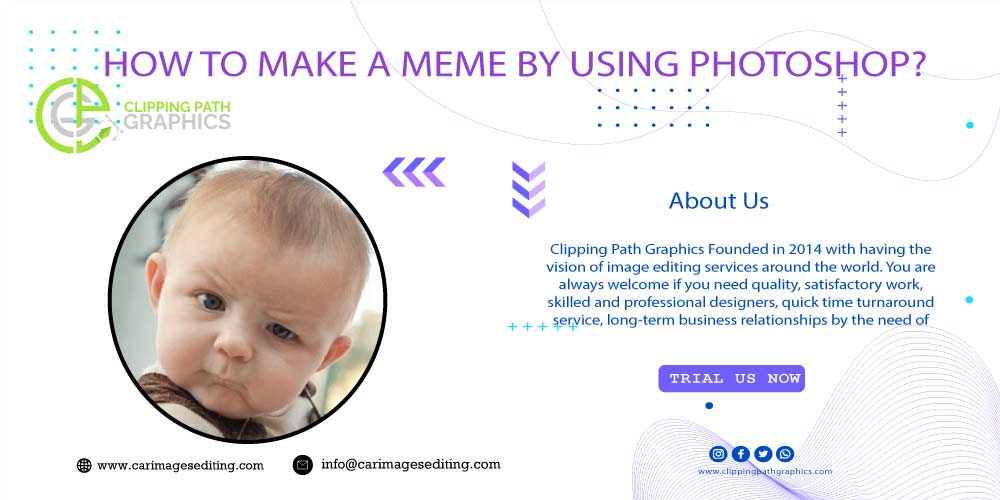 How to Make a Meme By Using Photoshop Feature-image
