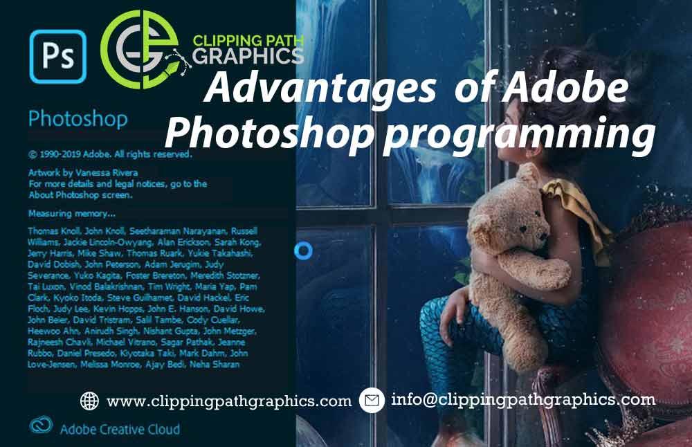 Advantages of Adobe Photoshop programming