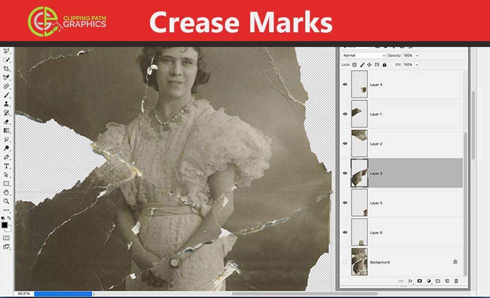 Crease-Marks