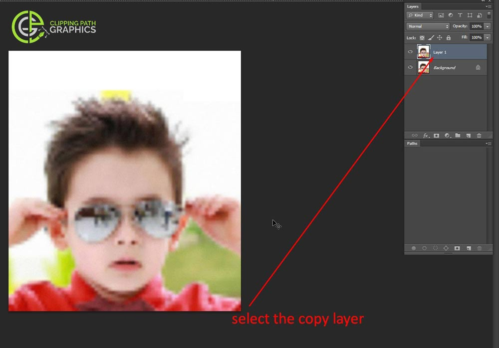 Stage-5-a-Fix a Pixelated Image In Photoshop