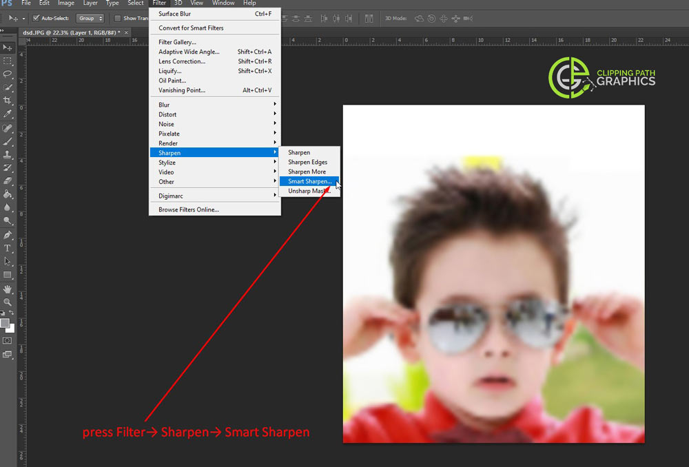 Stage-6-Fix a Pixelated Image In Photoshop