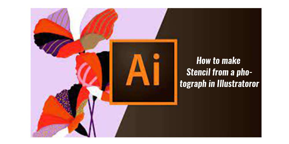 How to make Stencil from-a-photograph in Illustrator