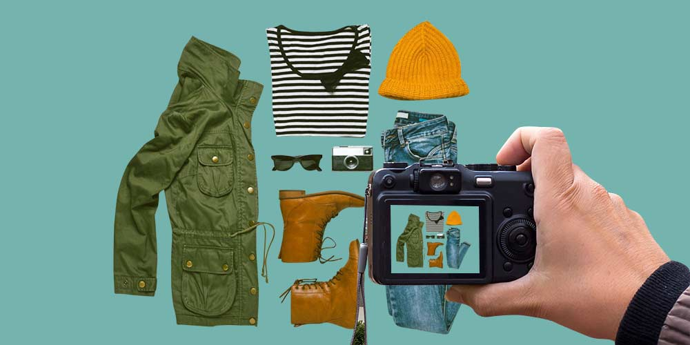 How to take pictures of clothes without a mannequin